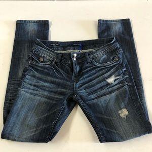 Vigoss Studio destroyed skinny jeans the New York